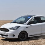 Ford Figo Sports Edition (Ford Figo S) in motion
