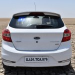 Ford Figo Sports Edition (Ford Figo S) rear at Rann of Kachchh