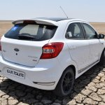Ford Figo Sports Edition (Ford Figo S) rear three quarters elevated view