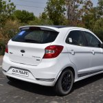 Ford Figo Sports Edition (Ford Figo S) rear three quarters in motion