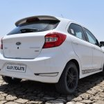 Ford Figo Sports Edition (Ford Figo S) rear three quarters right side review