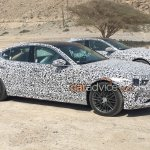 Genesis G70 (BMW 3 Series rival) side spied testing