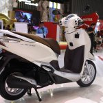 Honda Lead 125 at Vietnam Motorcycle Show rear three quarter