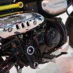 Honda Monkey 125 concept at 2017Vietnam Motorcycle Show exhaust