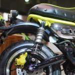 Honda Monkey 125 concept at 2017Vietnam Motorcycle Show rear suspension