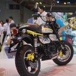 Honda Monkey 125 concept at 2017Vietnam Motorcycle Show rear three quarter
