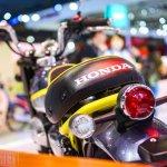 Honda Monkey 125 concept at 2017Vietnam Motorcycle Show taillamp