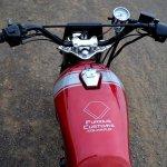 Honda Unicorn 150 Scrambler by Furious Customs handlebar