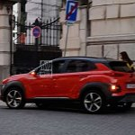 Hyundai Kona undisguised spy shot