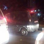IAB reader spots the Mahindra Jeeto van side