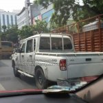 IAB reader spots the Mahindra Scorpio Getaway rear three quarter