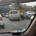 IAB reader spots the Mahindra Scorpio Getaway rear