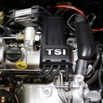 India-made VW Polo 180 TSI engine bay showcased at IIMS 2017