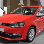 India-made VW Polo 180 TSI front showcased at IIMS 2017