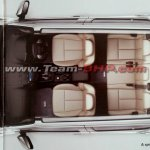 Indian-spec Isuzu MU-X brochure leaked image cabin