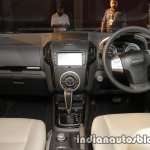 Isuzu MU-X dashboard launched in India image