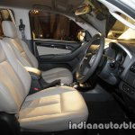 Isuzu MU-X front cabin launched in India image