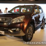 Isuzu MU-X front quarter launched in India image