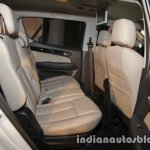 Isuzu MU-X rear cabin launched in India image