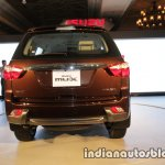 Isuzu MU-X rear launched in India image