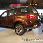 Isuzu MU-X rear three quarter launched in India image
