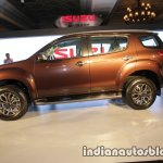 Isuzu MU-X side launched in India image