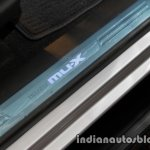 Isuzu MU-X sill plaque launched in India image