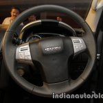 Isuzu MU-X steering wheel launched in India image