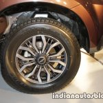 Isuzu MU-X wheel launched in India image