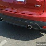 Jaguar F-Pace R-Sport SUV exhaust pipes Review