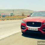 Jaguar F-Pace R-Sport SUV front highway Review