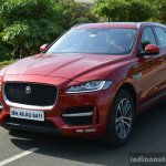 Jaguar F-Pace R-Sport SUV front quarter Review