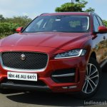 Jaguar F-Pace R-Sport SUV front quarter left Review