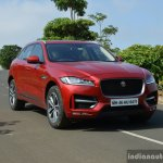 Jaguar F-Pace R-Sport SUV front right Review