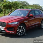 Jaguar F-Pace R-Sport SUV front three quarter left Review