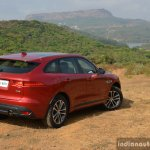 Jaguar F-Pace R-Sport SUV rear three quarter scenic Review
