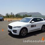 Jaguar F-Pace front three quarters second image