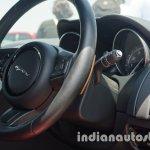 Jaguar F-Pace steering wheel