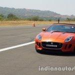 Jaguar F-Type Convertible front three quarters