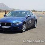 Jaguar XE front three quarters left side