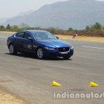 Jaguar XE front three quarters right side