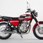 Jawa 350 OHC four-stroke side red