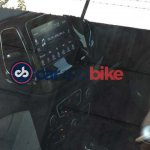 Jeep Compass touchscreen spied up close