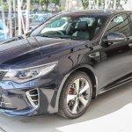 Kia Optima GT front in Malaysia