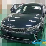 Kia Optima GT front spotted undisguised in Malaysia