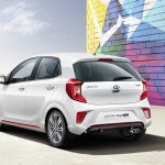 Kia Picanto GT-Line rear three quarters