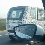Mahindra Jeeto rear quarter spied testing up close