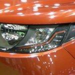 Mahindra KUV100 LHD-spec headlamp showcased at Automobile Barcelona