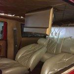 Mahindra Thar modified interior to a Hummer