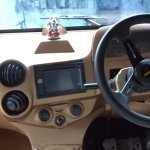 Mahindra Thar modified to a Hummer interior